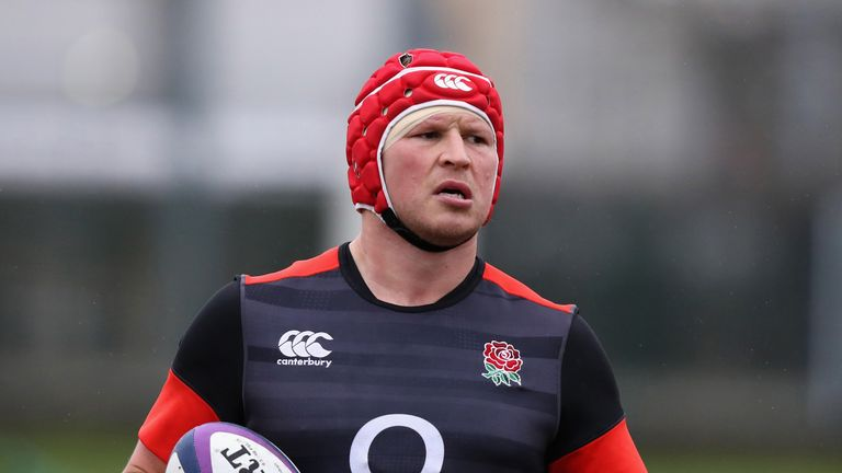 Hartley was made England captain when Eddie Jones took over as head coach