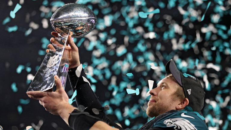 Super Bowl champions Philadelphia Eagles play at Wembley on October 28