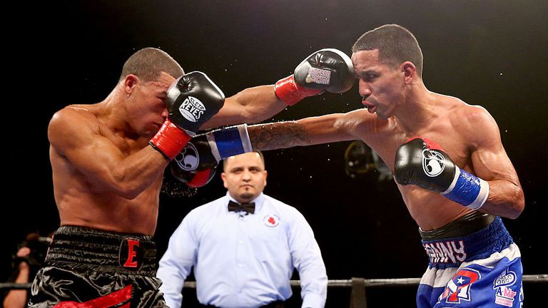 Emmanuel Rodriguez (R), from Puerto Rico, is unbeaten in 17 fights