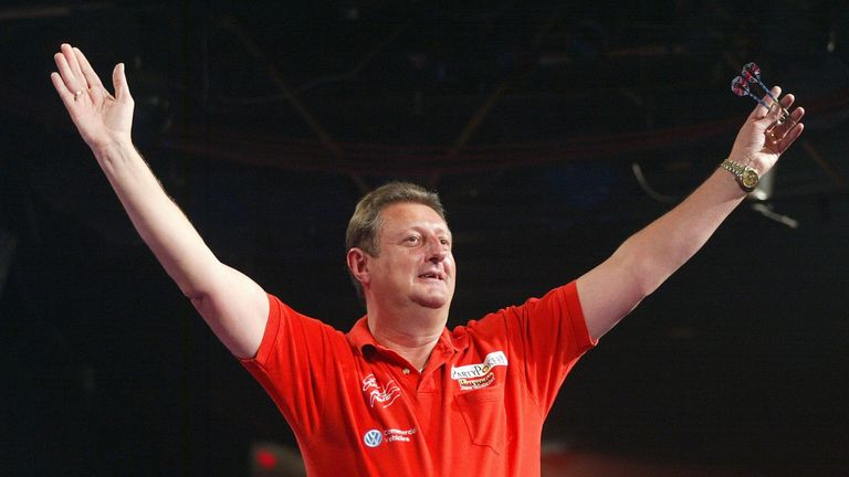 Perry was a big fan of the legendary Eric Bristow