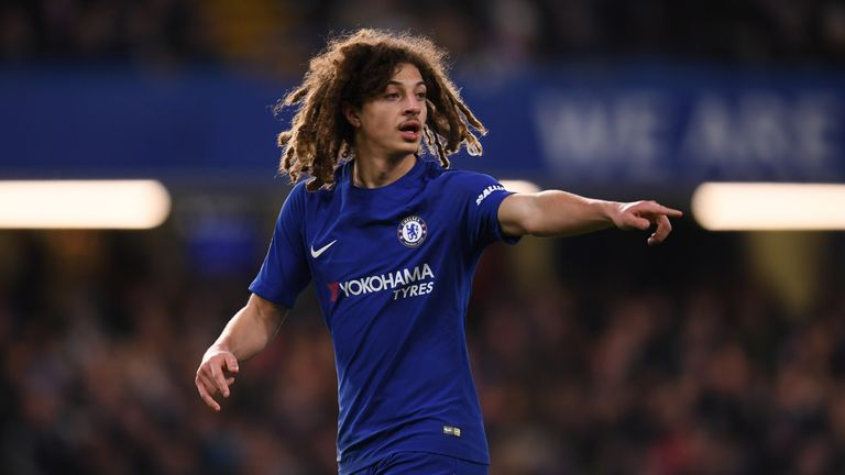 Ethan Ampadu has featured for Chelsea under former boss Antonio Conte but not Maurizio Sarri