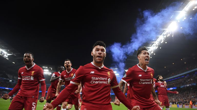 Liverpool beat Manchester City 5-1 on aggregate to progress to the Champions League semi-finals