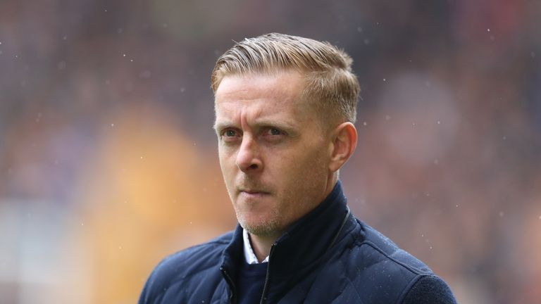 Garry Monk was sent from the dugout in Birmimgham's draw against Brentford