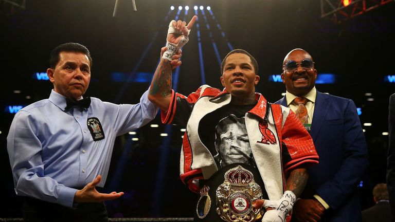 Davis now wants to unify the super-featherweight division