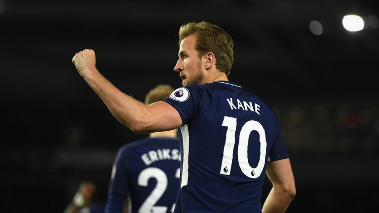 Harry Kane is Salah's main rival for the Golden Boot