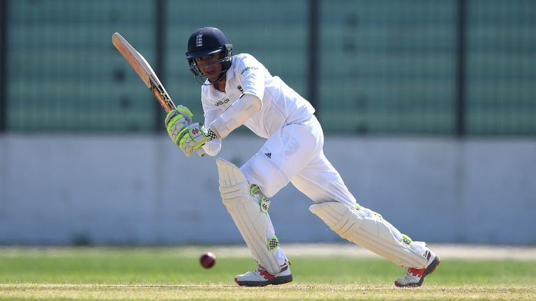 Haseeb Hameed hit two fifties and averaged 43.80 in his three Tests in India