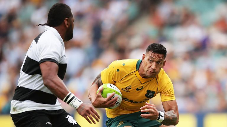 Israel Folau is one of Australia's best-known players