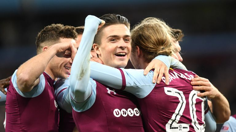 Jack Grealish and Aston Villa face Middlesbrough