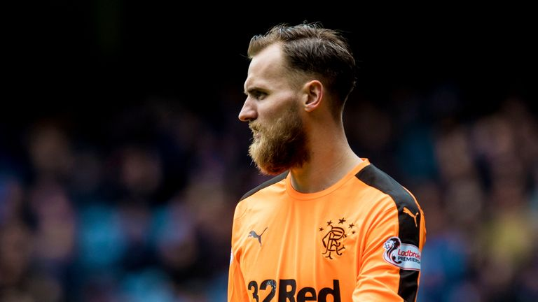 Rangers goalkeeper Jak Alnwick has deputised for Wes Foderingham following the Scottish Cup semi-final defeat to Celtic in April