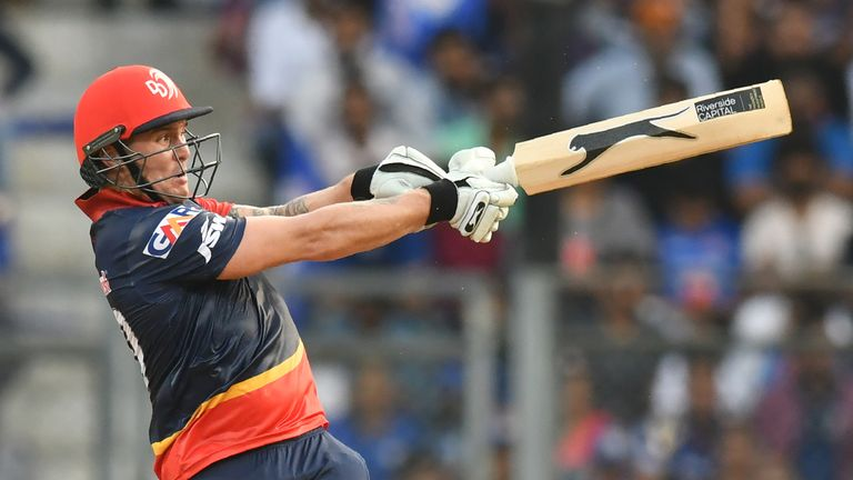 Jason Roy is set to be involved for Delhi Daredevils in Saturday's IPL double-header (Credit: AFP)