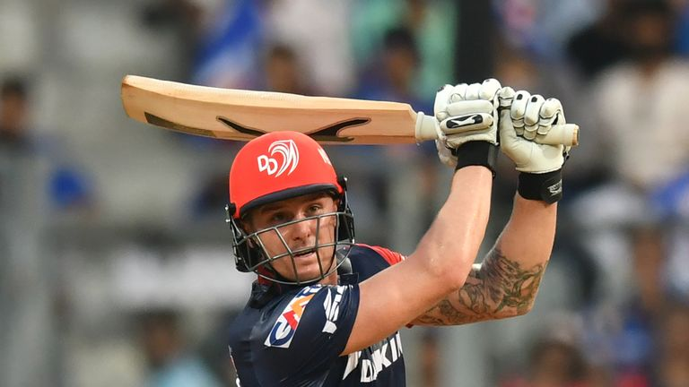 Jason Roy was unable to build on his impressive unbeaten 91 for Delhi Daredevils (Credit: AFP)