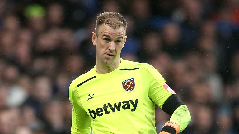 Joe Hart will hold talks with City about his future at the club