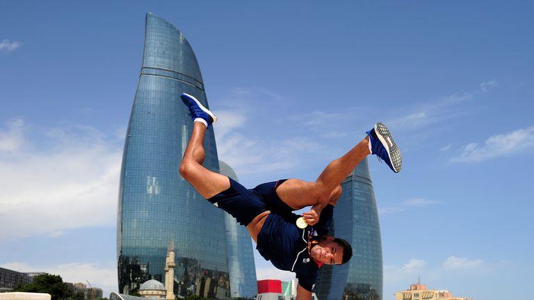 Joyce won a European gold medal in Baku