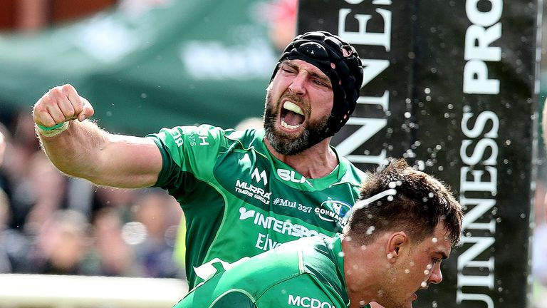 John Muldoon signed off in style at The Sportsground