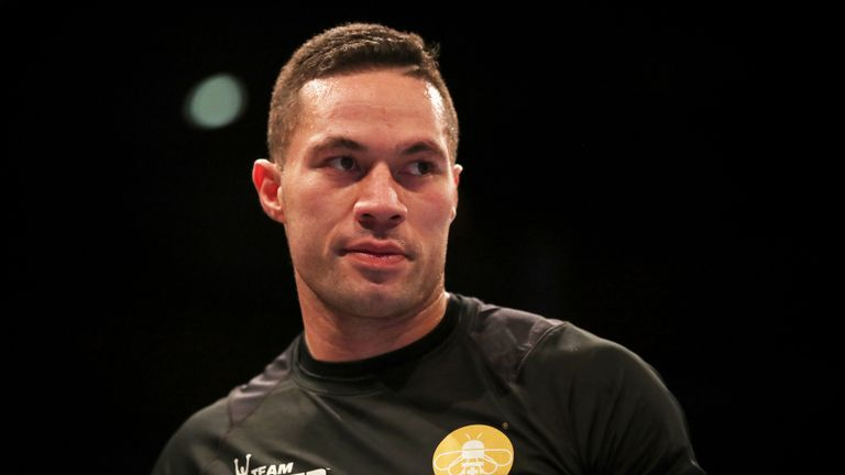 Joseph Parker had hoped to fight another British heavyweight