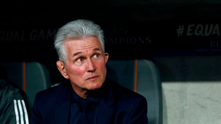 Heynckes' Bayern Munich dumped Arsenal out of the Champions League in 2013