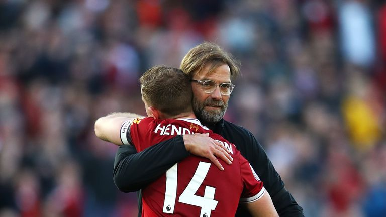 Klopp joined the Reds midway through the 2015-16 season