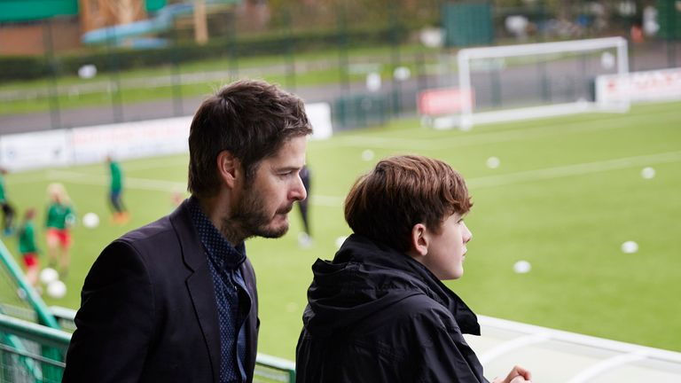 Paul (Scot Williams) hopes to see Charlie embark on the successful professional football career that he missed out on