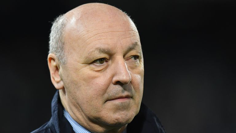 Juventus chief executive Giuseppe Marotta said he was confident of announcing the signing of Can