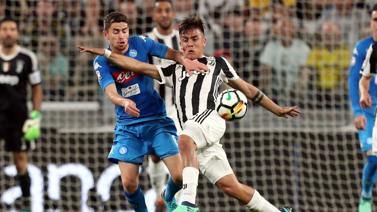 Napoli lost 5-4 on aggregate in the 2016-17 Coppa Italia semi-final against Juventus