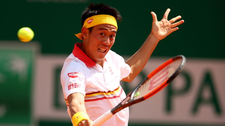 Kei Nishikori beat Daniil Medvedev to progress