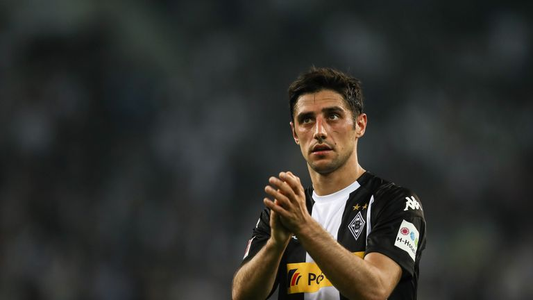 Stindl injured his left ankle in Gladbach's draw with Schalke