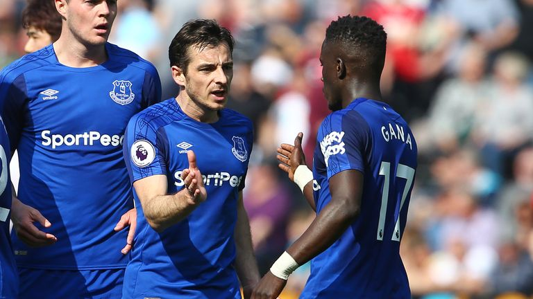 Everton are currently ninth in the Premier League