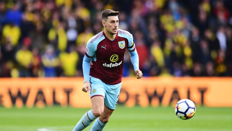 Matt Lowton has made 20 Premier League appearances for Burnley this season