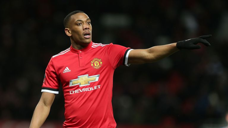 Anthony Martial has odds of 2/1 with Sky Bet to join Tottenham