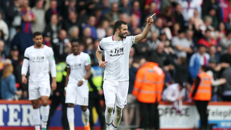 Luka Milivojevic maintained his impressive goalscoring form with a stunner at Bournemouth