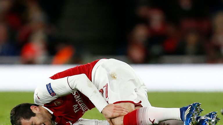 Henrikh Mkhitaryan could be back for the second leg of Arsenal's Europa League semi-final against Atletico Madrid