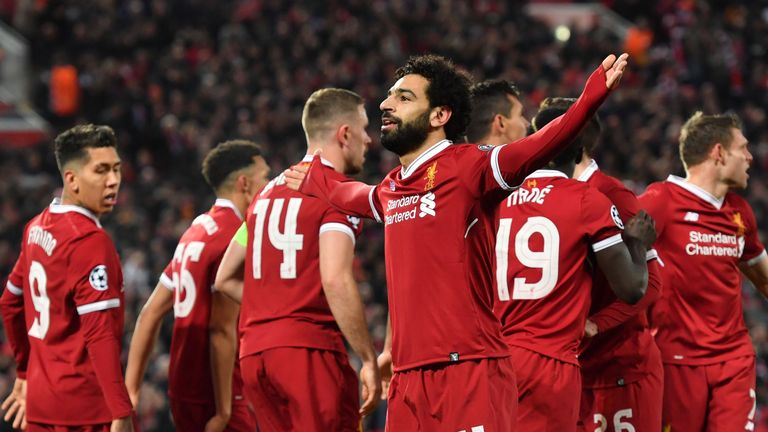 Salah was key on Liverpool's run to the Champions League final