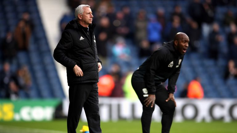 Moore was made first-team coach by Alan Pardew