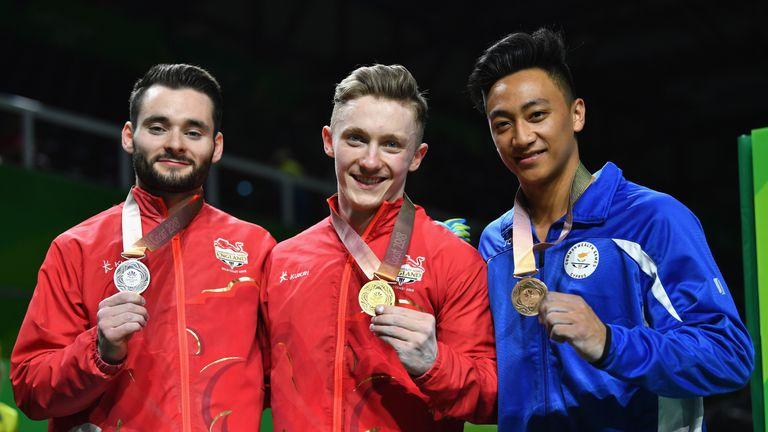 Wilson won gold ahead of team-mate James Hall
