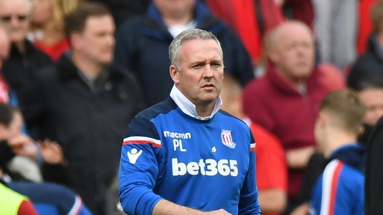 Paul Lambert's Stoke could be relegated by the time the weekend is out