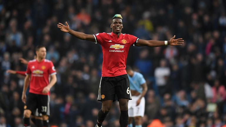 Paul Pogba has been linked with a return to Juventus