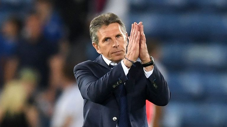 Fuchs urged the Foxes to give Claude Puel more time