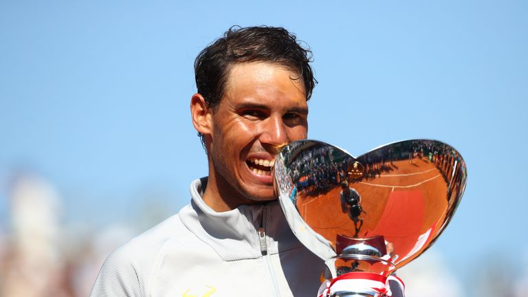 Nadal won a historic 11th Monte-Carlo title last year
