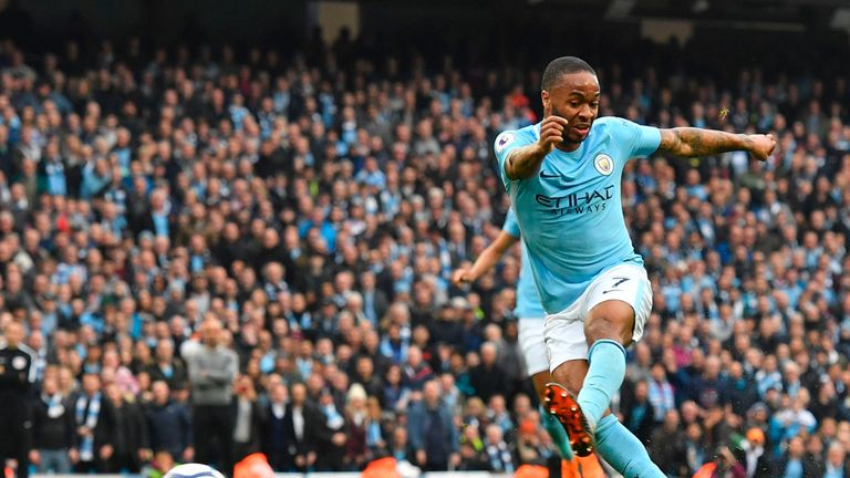 Sterling scored 23 goals for City this season
