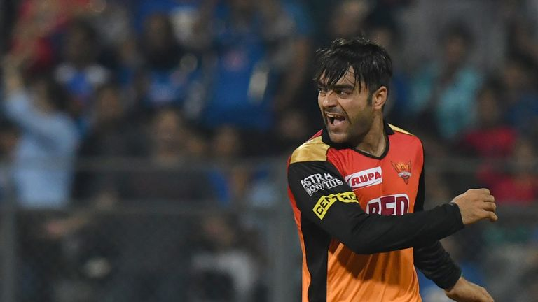 Rashid Khan, Sunrisers Hyderabad, IPL (Credit: AFP)