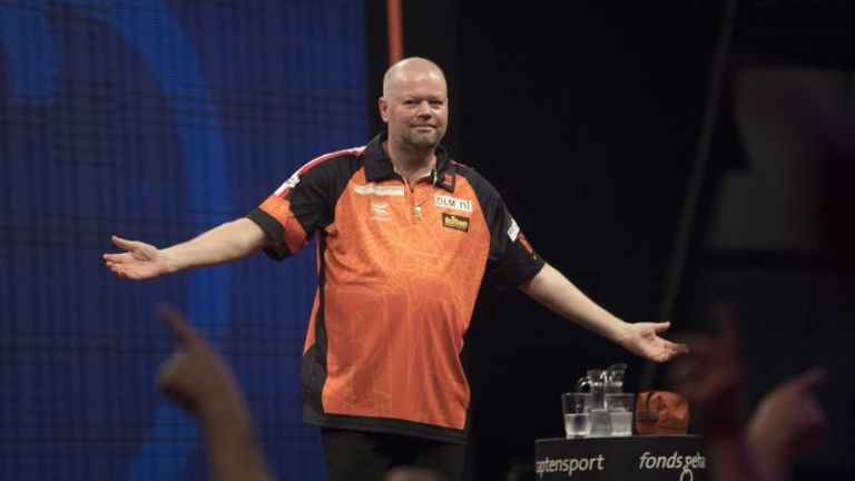 Van Barneveld faces a battle to retain his top-16 status in the coming months