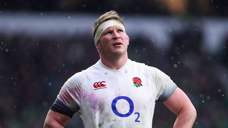 Dylan Hartley reported concussion symptoms after England's loss to Ireland