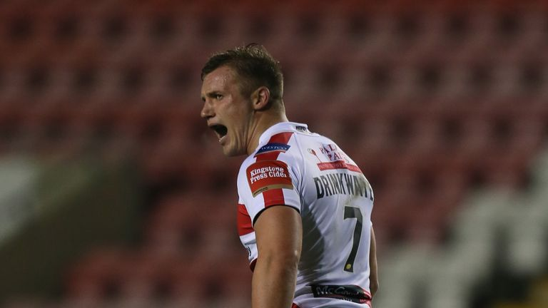 Josh Drinkwater is back in Super League after joining Catalans until the end of the season