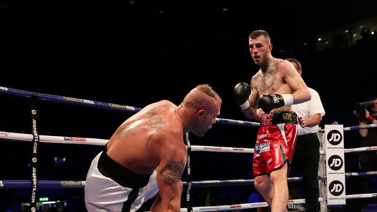 Eggington has earned his reputation as an entertaining fighter