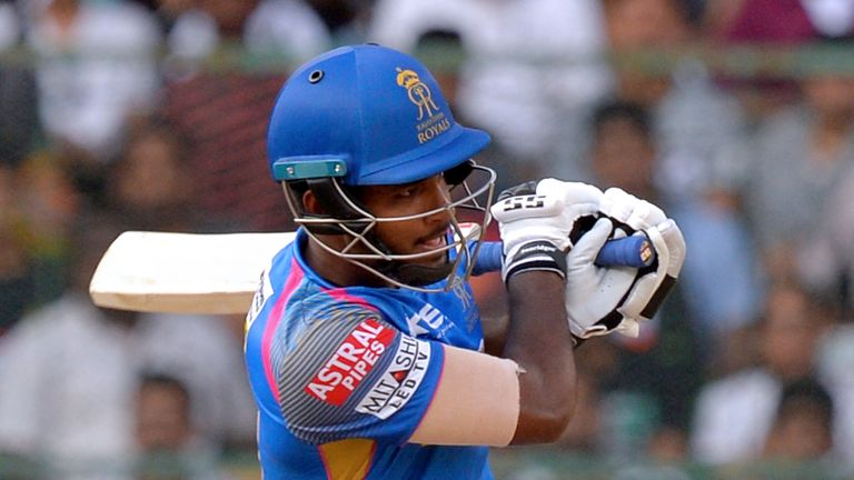 Sanju Samson is a key batsman for Rajasthan (Credit: AFP)
