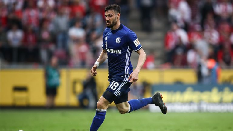 Daniel Caligiuri hauled Schalke level from the spot