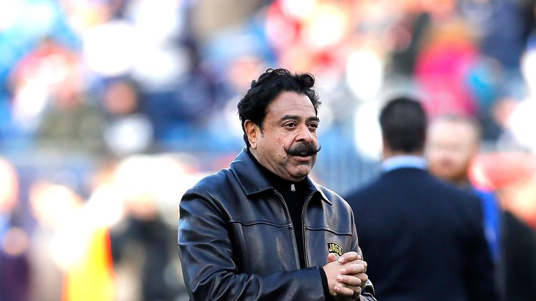 Shahid Khan owns Premier League side Fulham and NFL franchise the Jacksonville Jaguars
