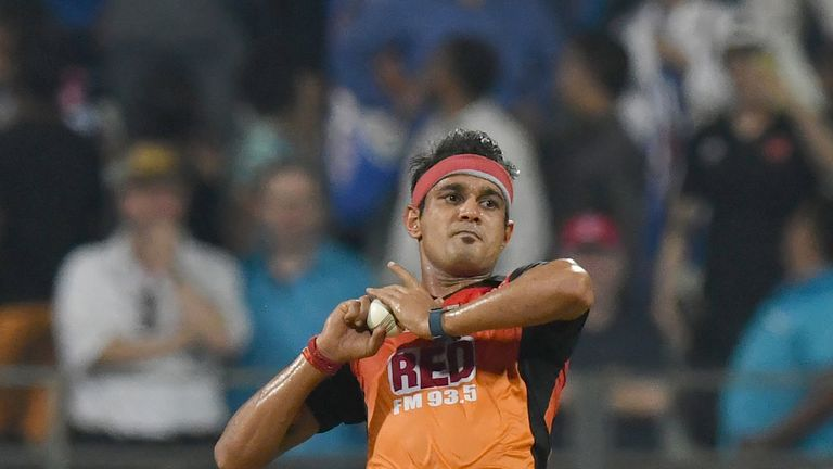 Siddarth Kaul has been named in India's T20I and ODI squads (Credit: AFP)