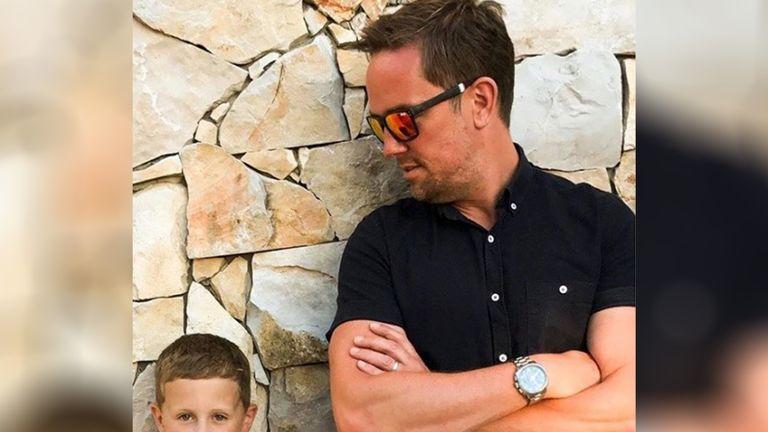 Simon Thomas and his son Ethan (Source: Instagram, Simon Thomas)