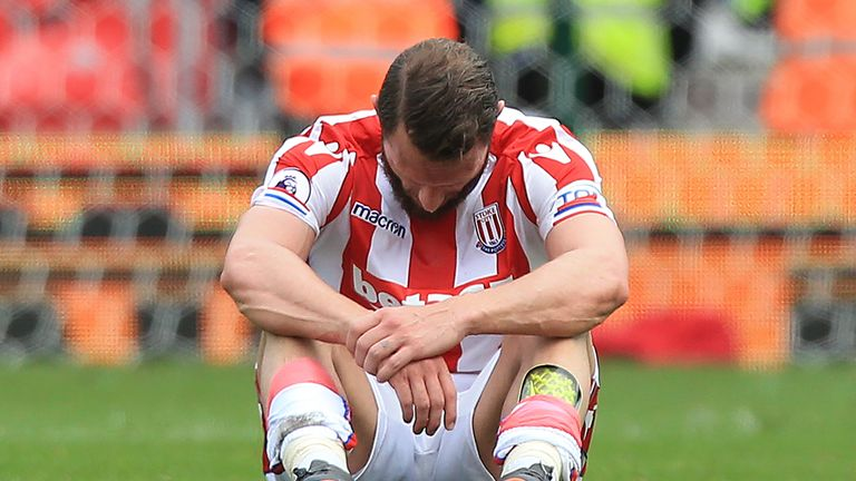 Stoke City could drop out of the Premier League after a 10-year stay